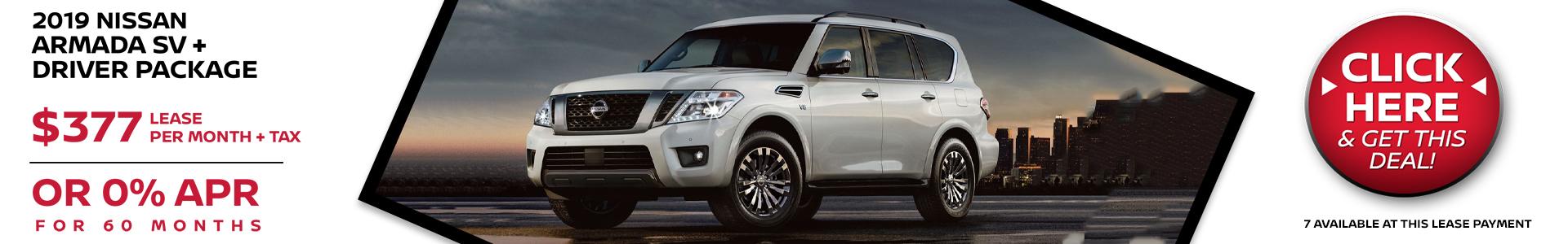 Mossy Nissan - Nissan Armada $377 Lease