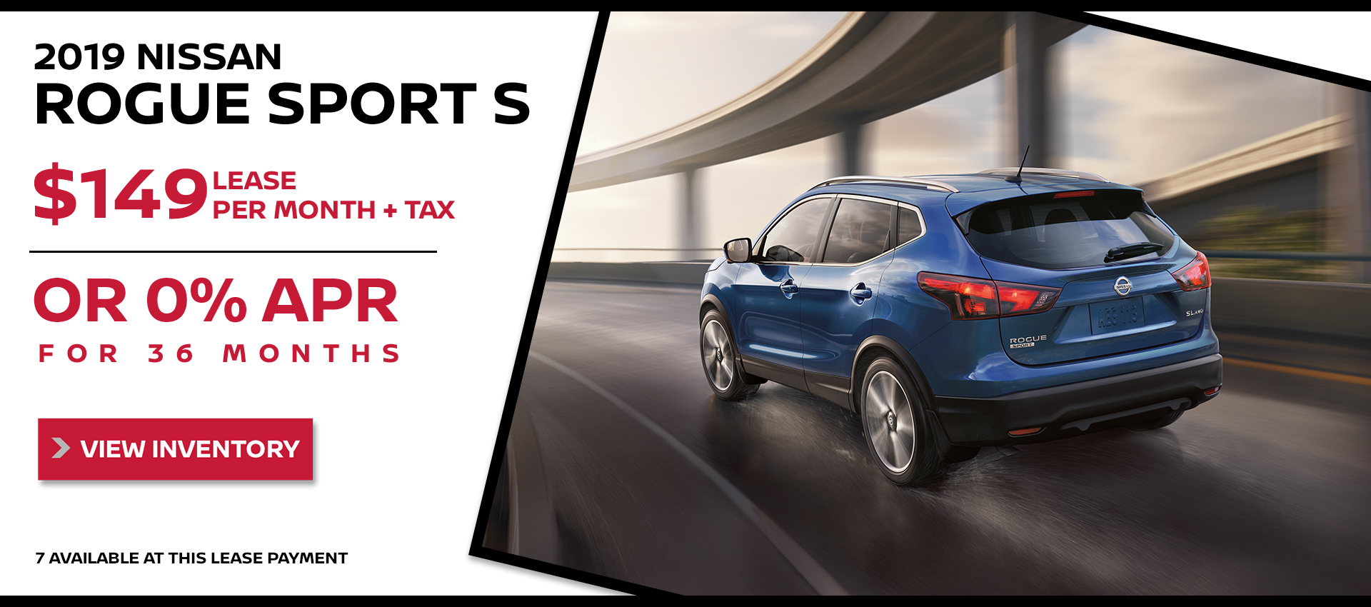 Mossy Nissan - Rogue Sport $149 Lease HP