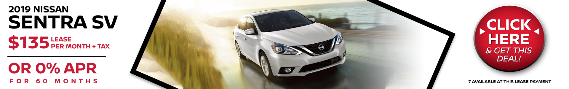 Mossy Nissan - Nissan Sentra $135 Lease