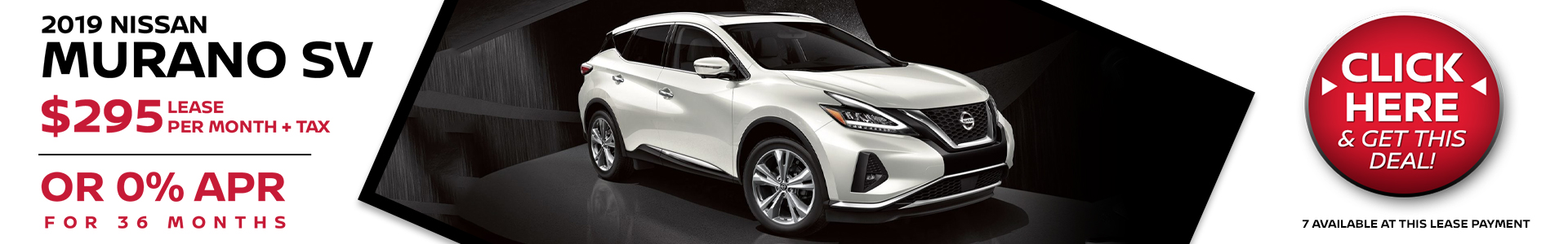 Mossy Nissan - Nissan Murano $295 Lease