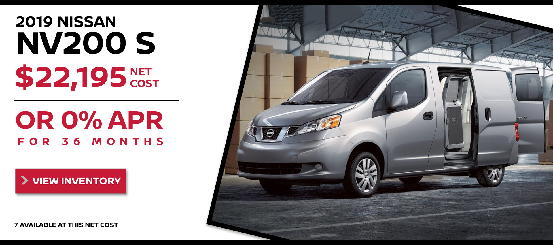 Mossy Nissan - Nissan NV200 $22,195 Purchase HP