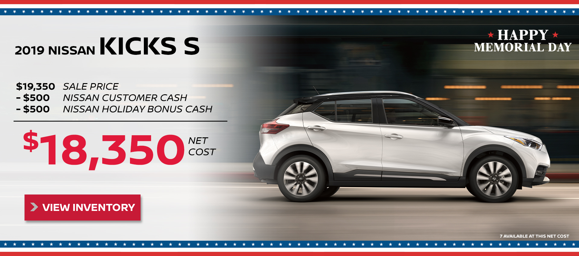 Mossy Nissan - Kicks $18,350 HP