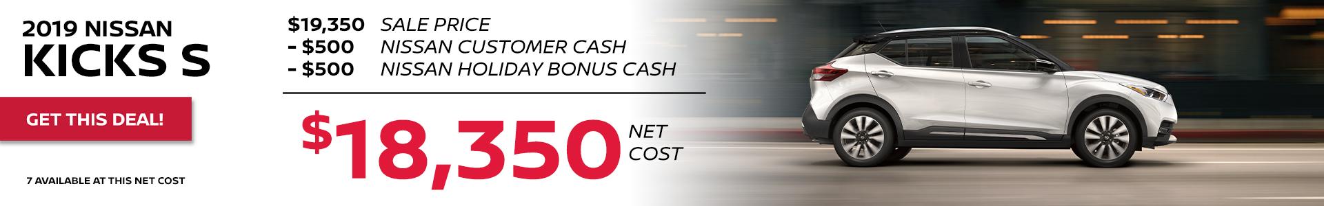 Mossy Nissan - Nissan Kicks $18,350