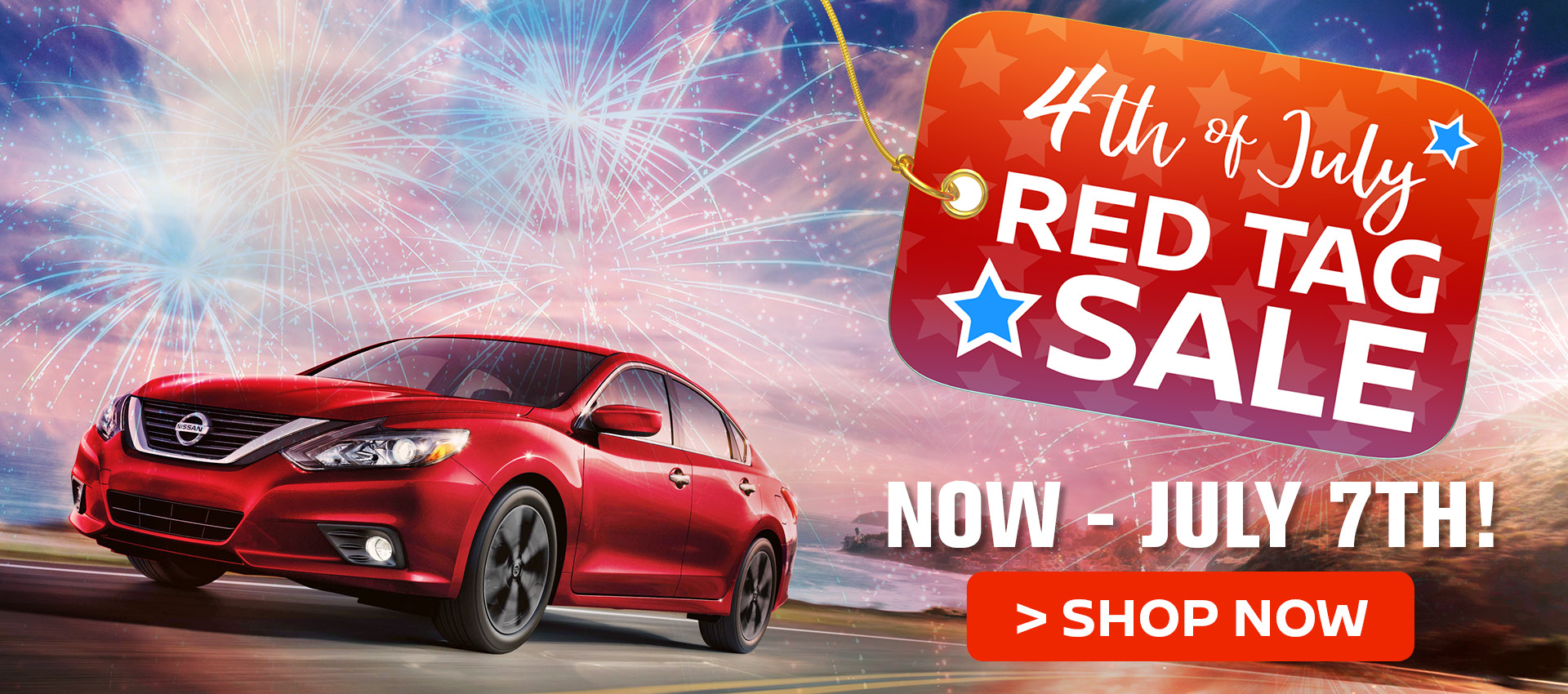 Nissan July 4th Sales Event
