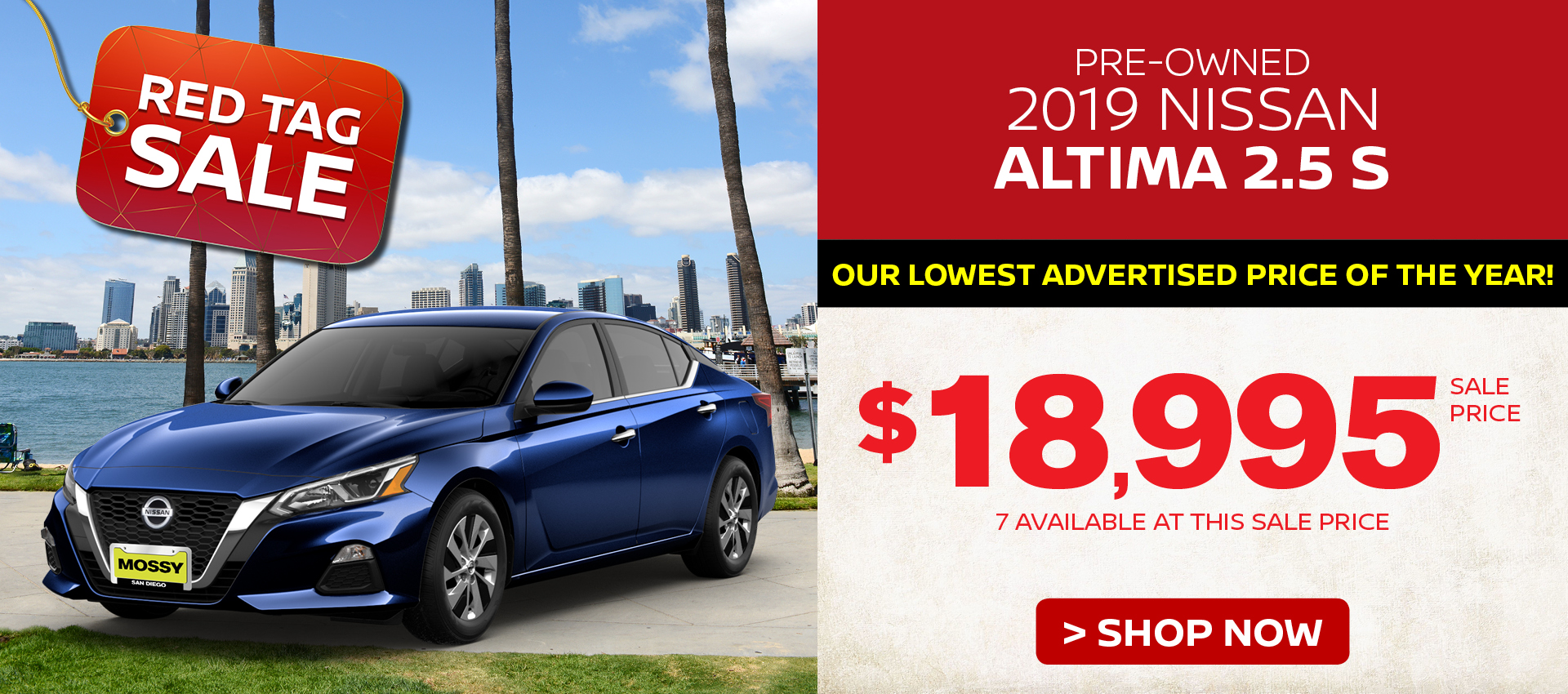 Mossy Nissan - PreOwned Altima Summer Savings HP