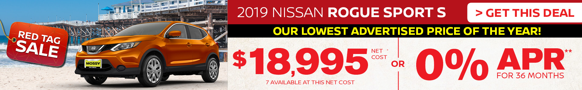 Mossy Nissan - Nissan Rogue Sport $19,995 Purchase