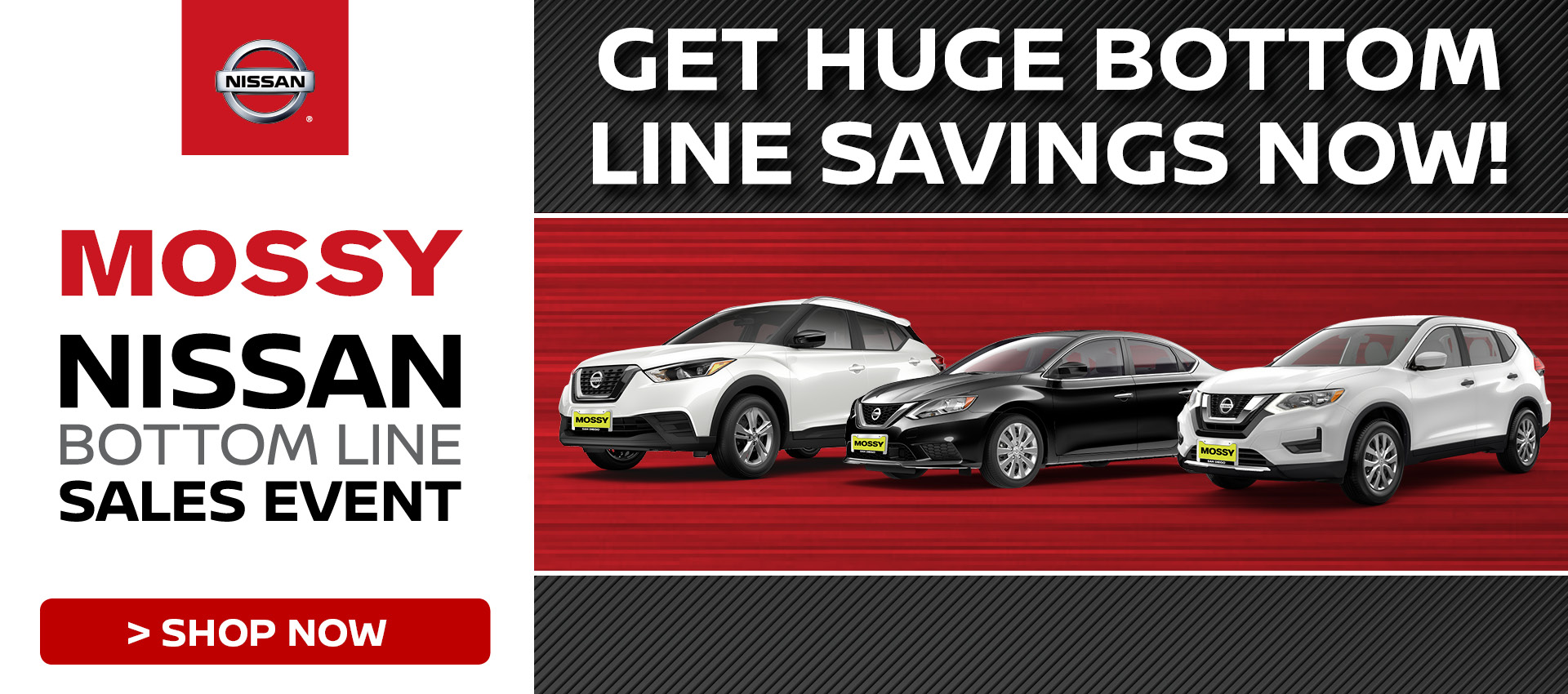 Mossy Nissan - Nissan Sales Event