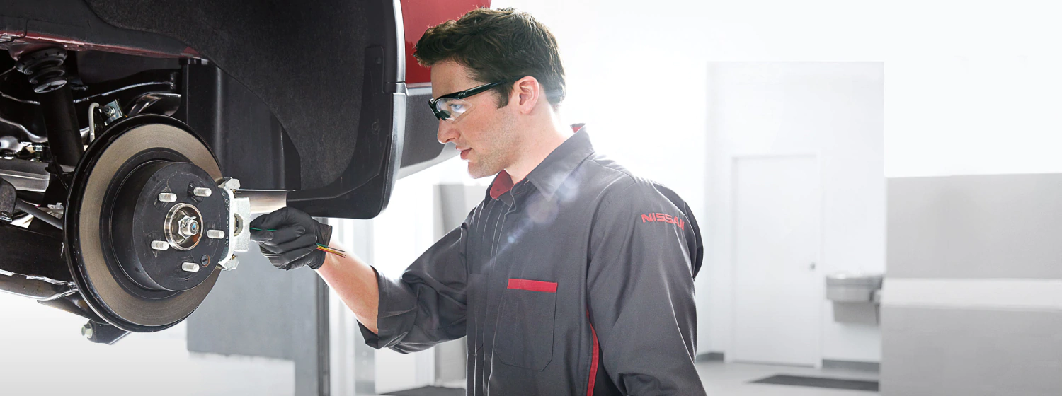 Brakes at Antelope Valley Nissan