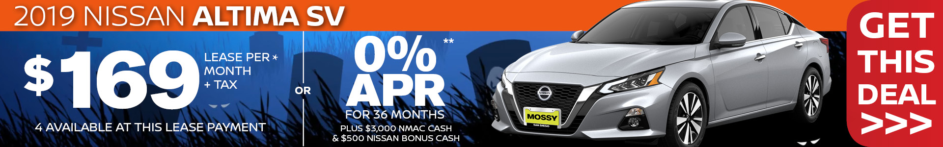 Mossy Nissan - Nissan Altima $19,995 Purchase
