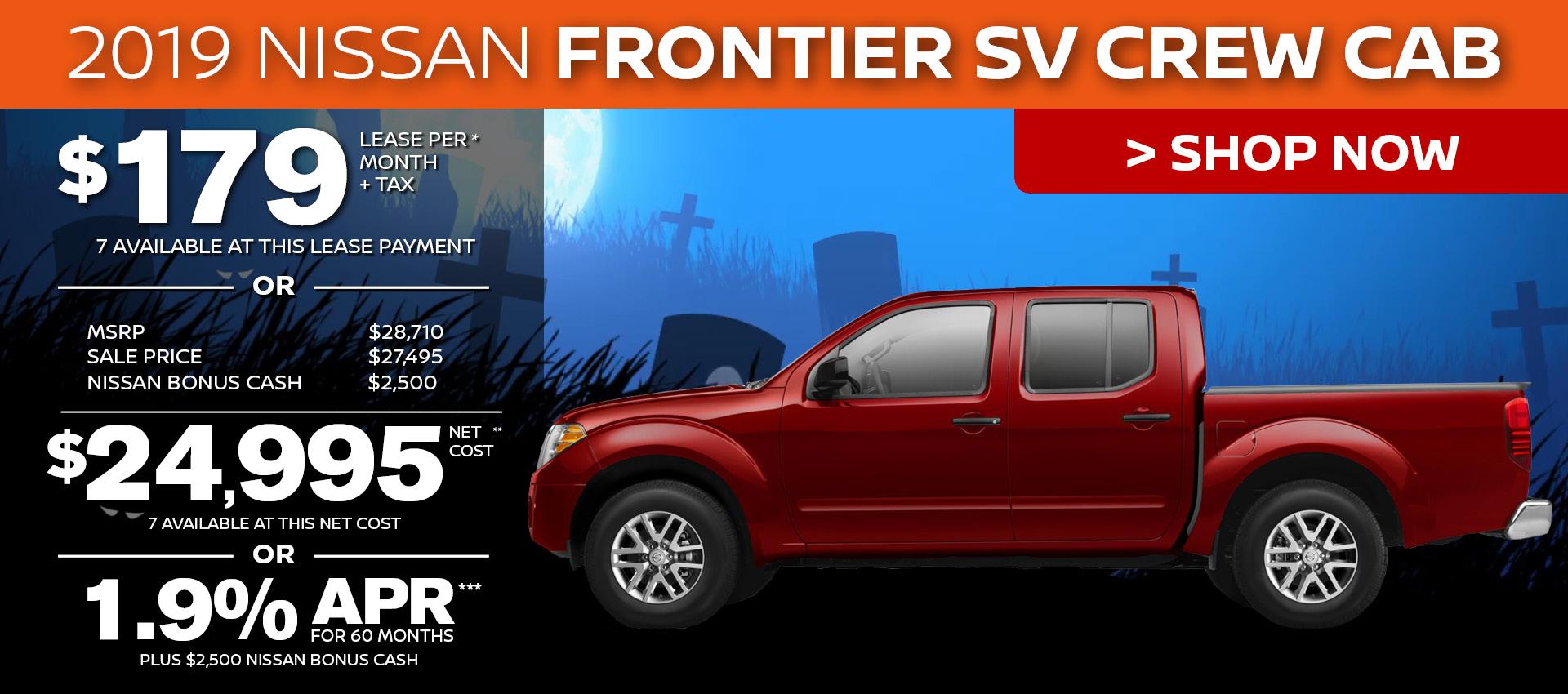 Mossy Nissan - Nissan Frontier SV Crew HP