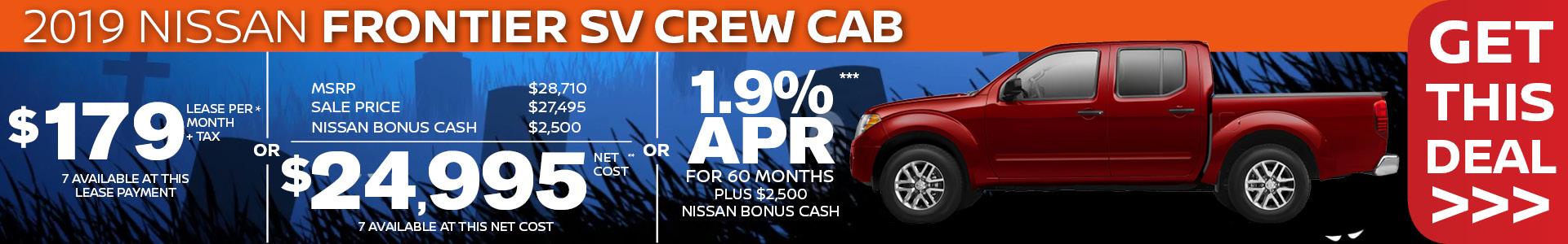 Mossy Nissan - Nissan Frontier SV Crew SRP