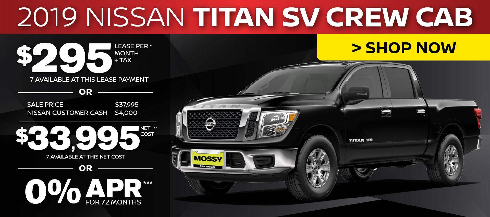 Mossy Nissan - Nissan Titan Purchase HP