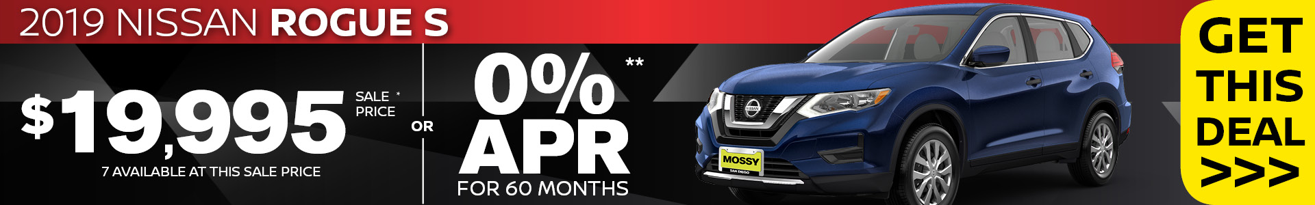 Mossy Nissan - Nissan Rogue $20,995 Purchase SRP
