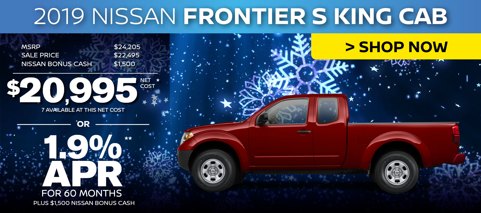 Mossy Nissan - Nissan Frontier S King HP