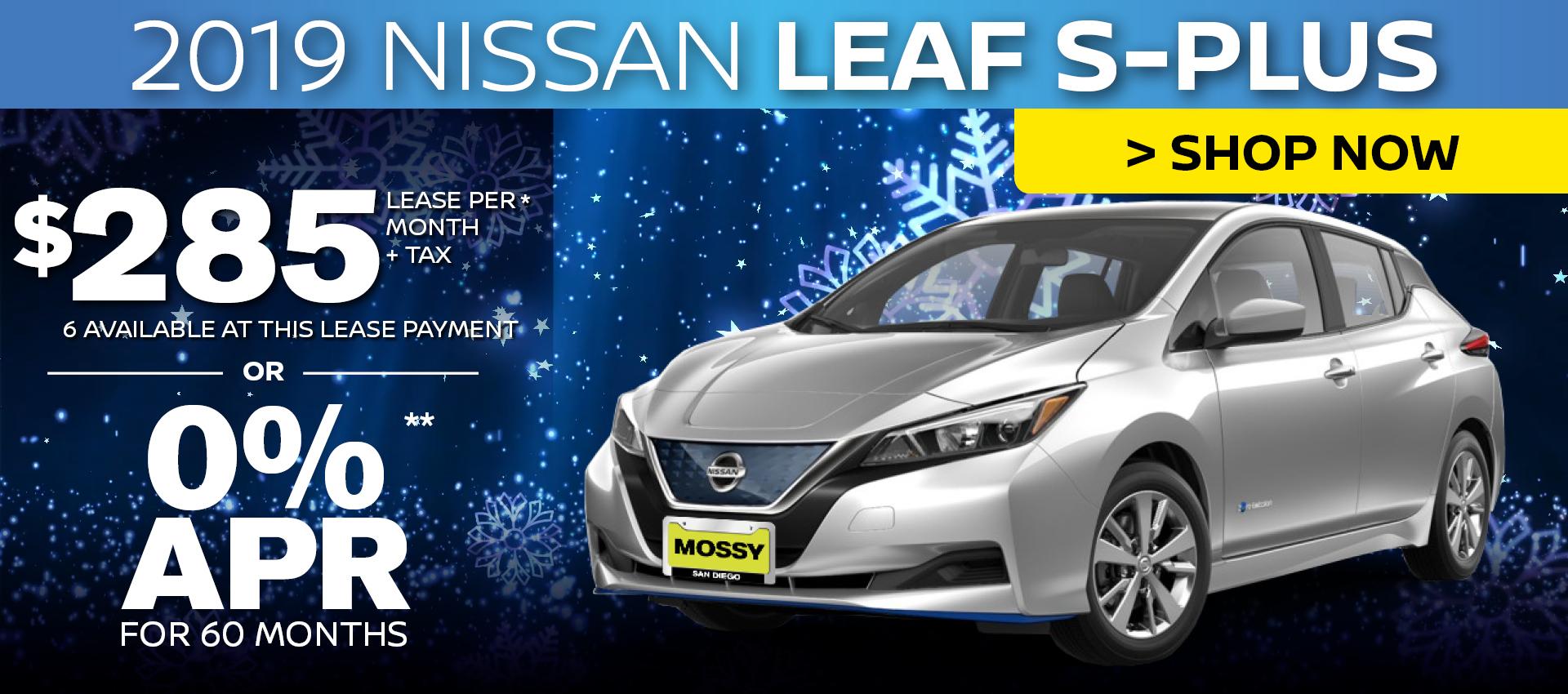 Mossy Nissan - Nissan Leaf HP