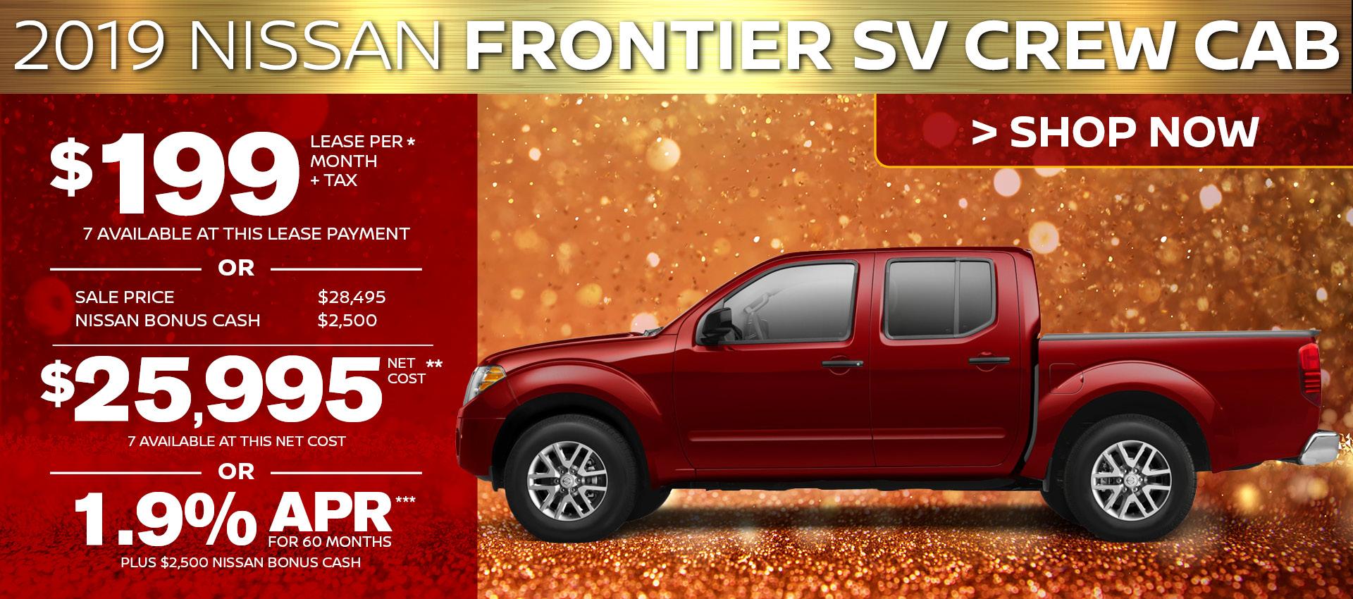 Mossy Nissan - Frontier Crew HP