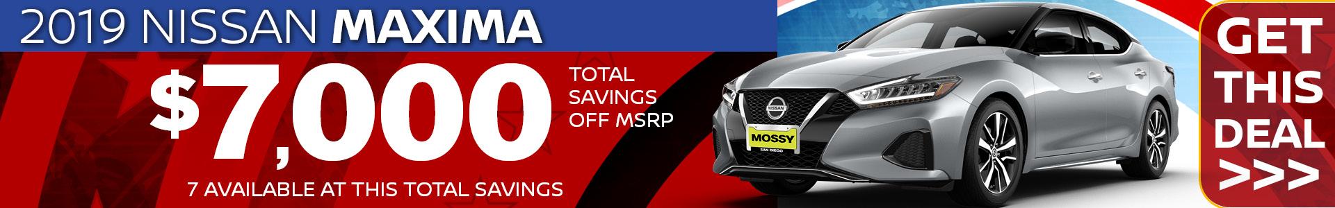 Mossy Nissan - Maxima SRP
