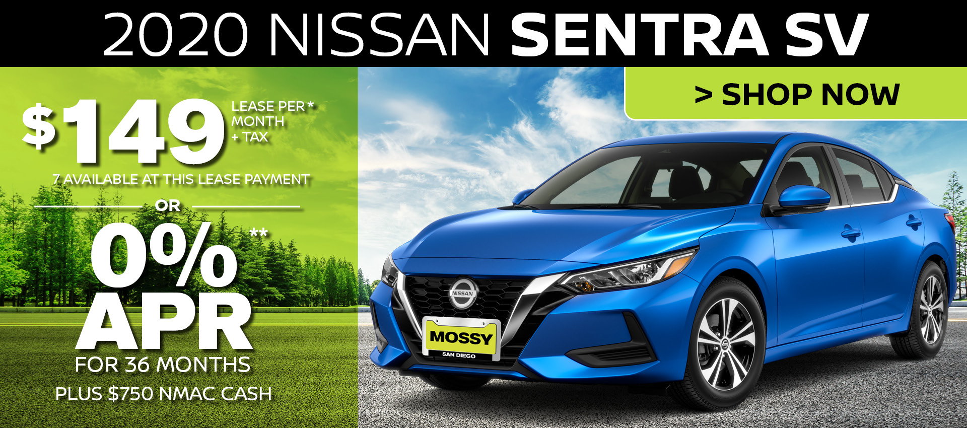 Mossy Nissan - Sentra HP