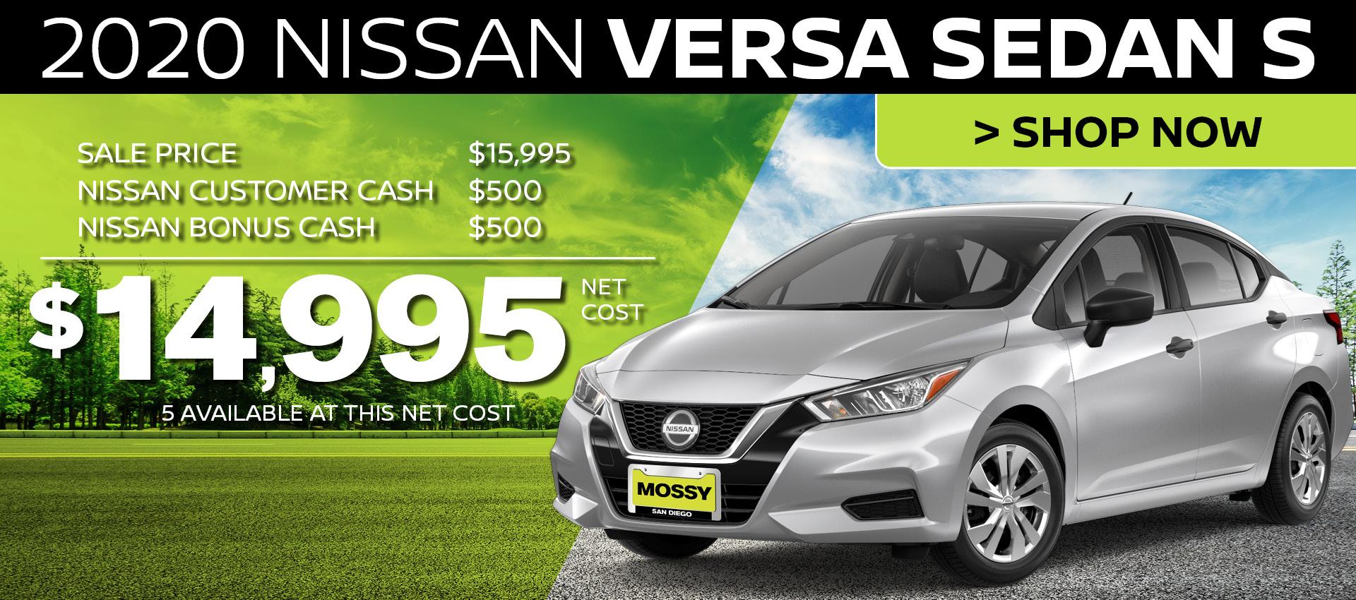 Mossy Nissan - Versa HP