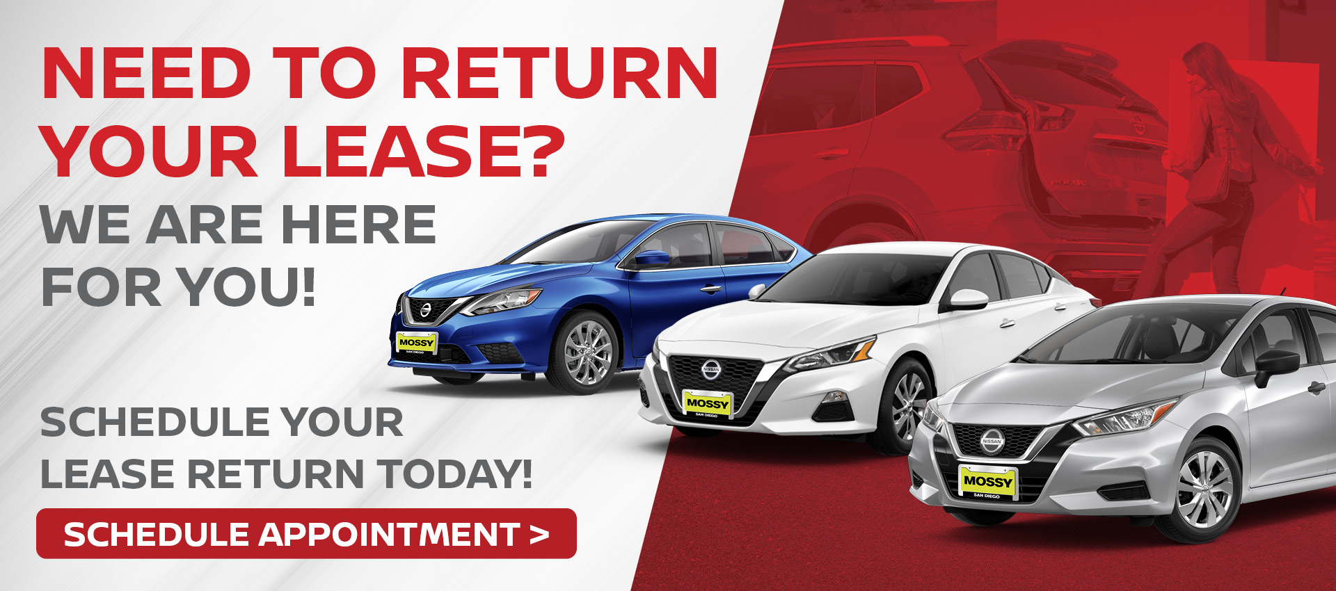 Mossy Nissan - Lease Return HP