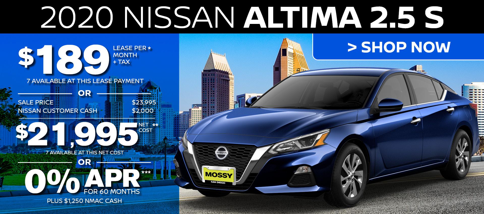 Mossy Nissan - Altima HP