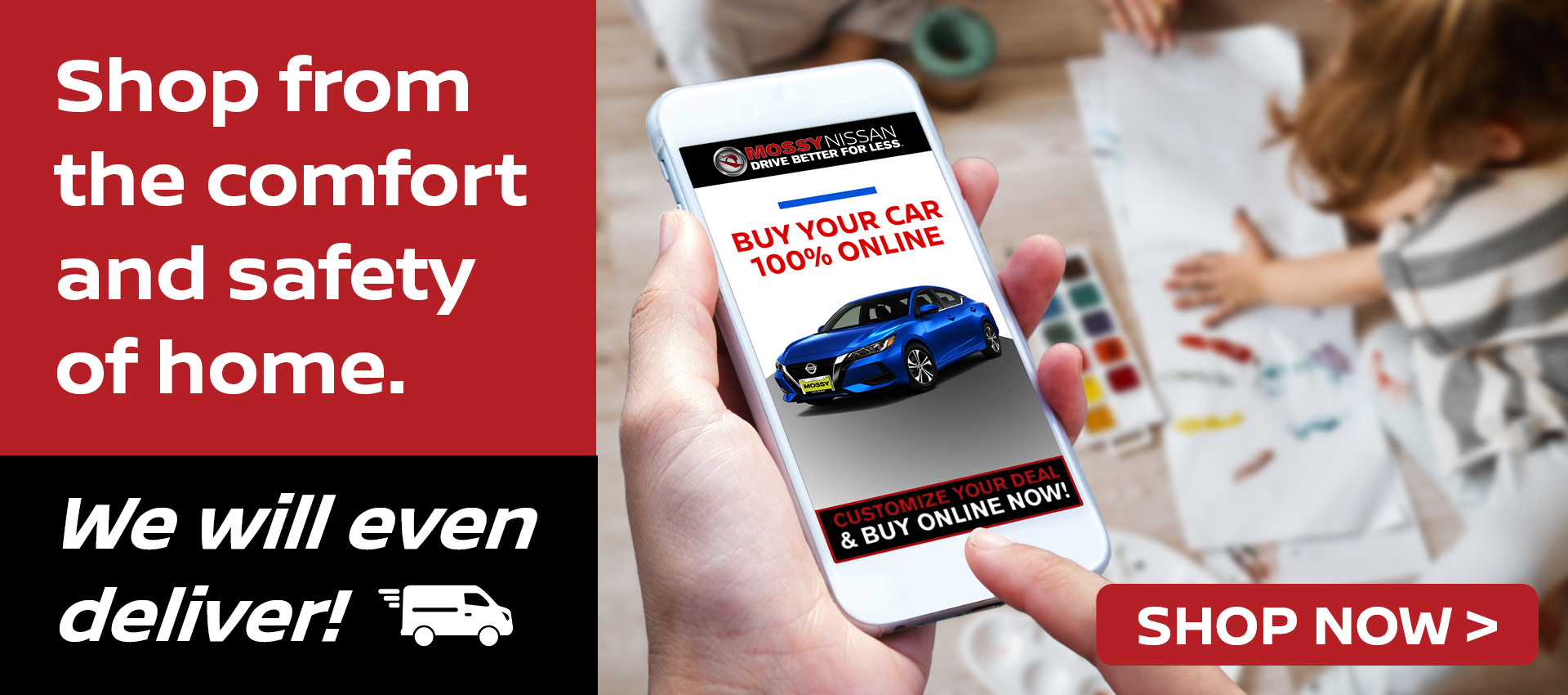 Mossy Nissan Shop Online