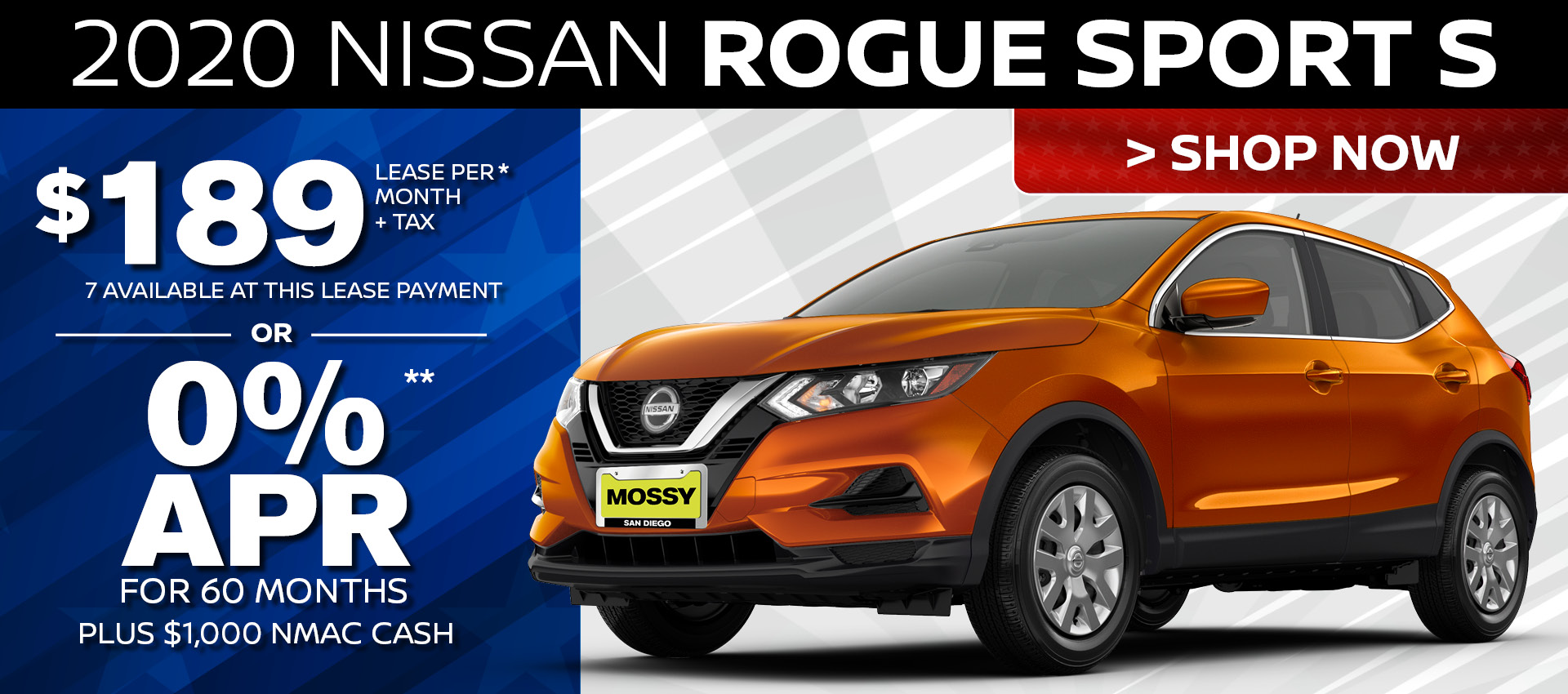 Mossy Nissan - Rogue Sport HP