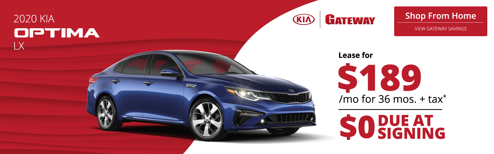 Gateway - 2020 Kia Optima - HP