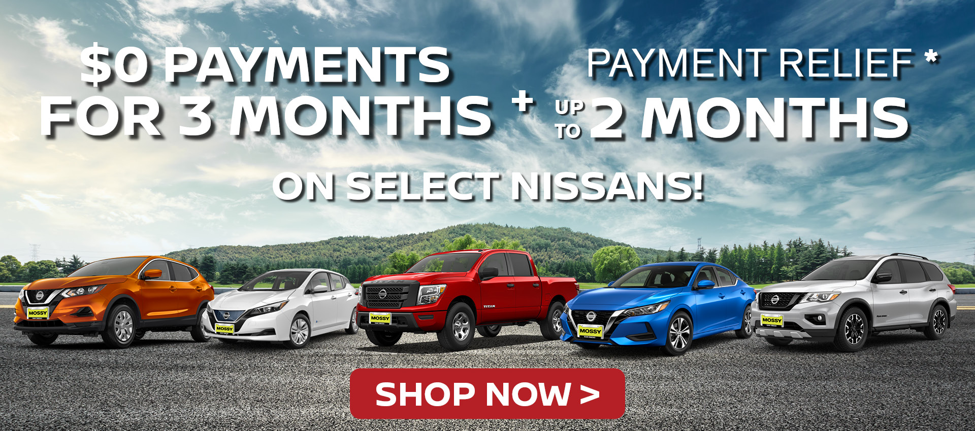 Mossy Nissan - Deferred Payments - HP