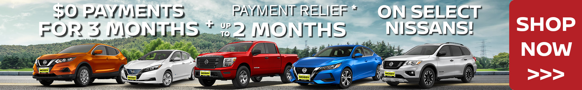 Mossy Nissan - Deferred Payments - SRP