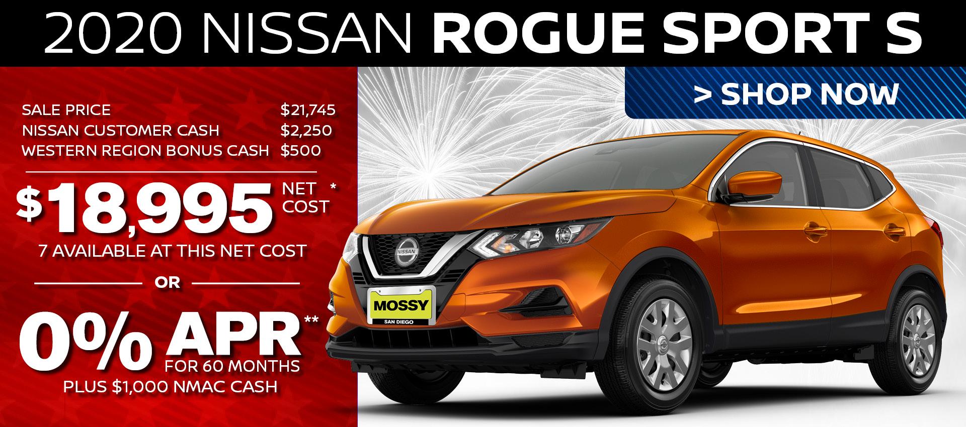 Mossy Nissan - Rogue Sport HP