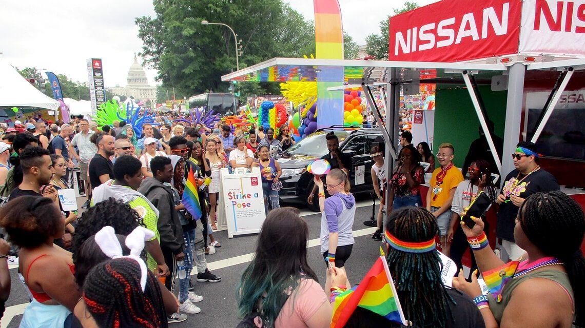 Nissan at Pride