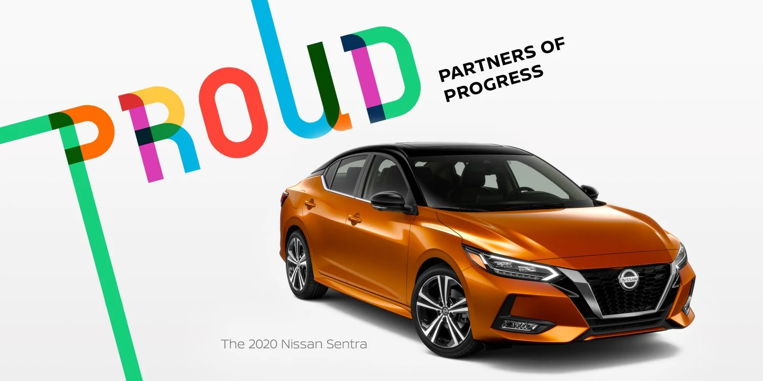 Proud Partners of Progress - The 2020 Nissan Sentra