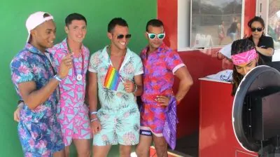 Nissan at Pride Photo