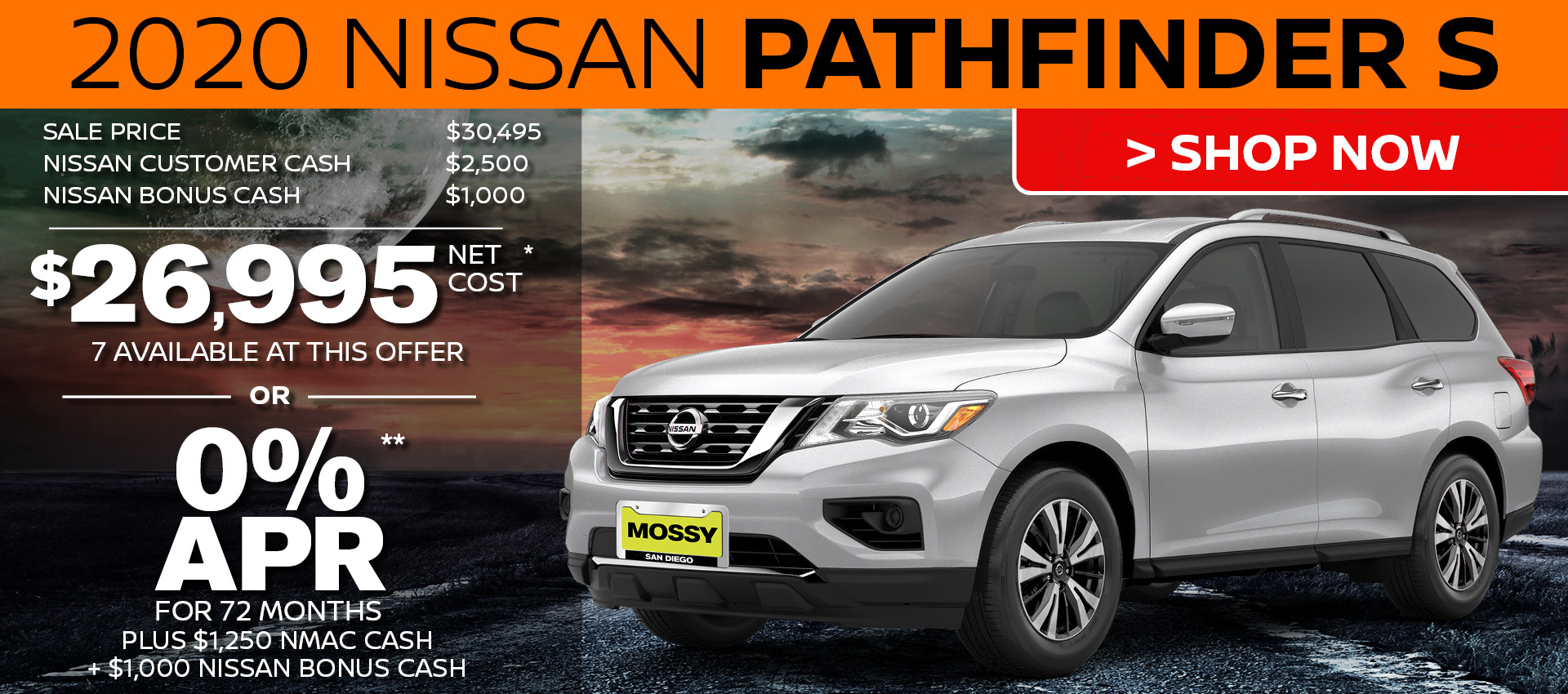 Mossy Nissan - Pathfinder HP