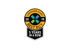 Consumer Guide 2019 Best Buy 5 Years in a Row