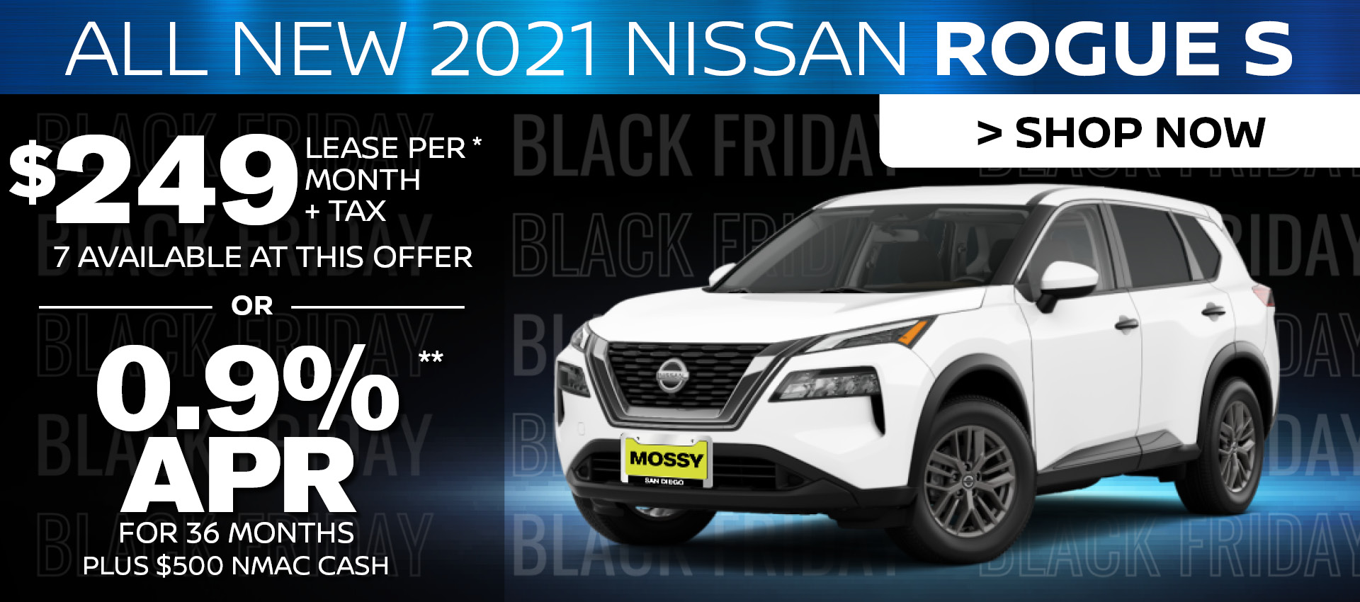 Mossy Nissan - 2021 Rogue HP