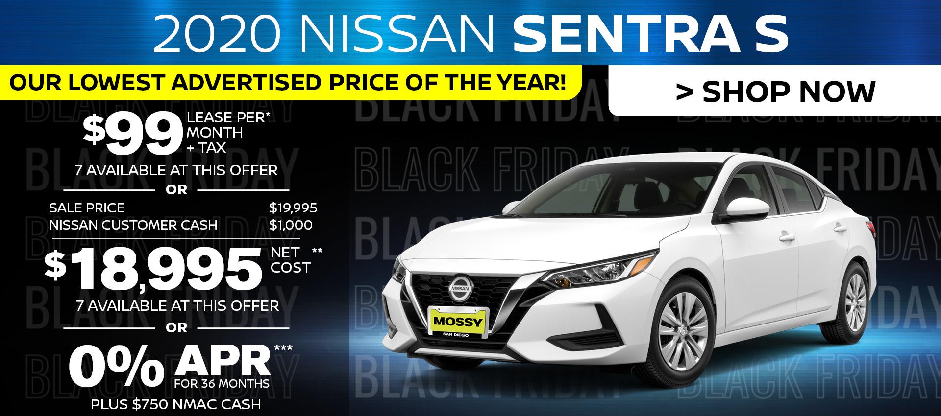 Mossy Nissan - Sentra HP