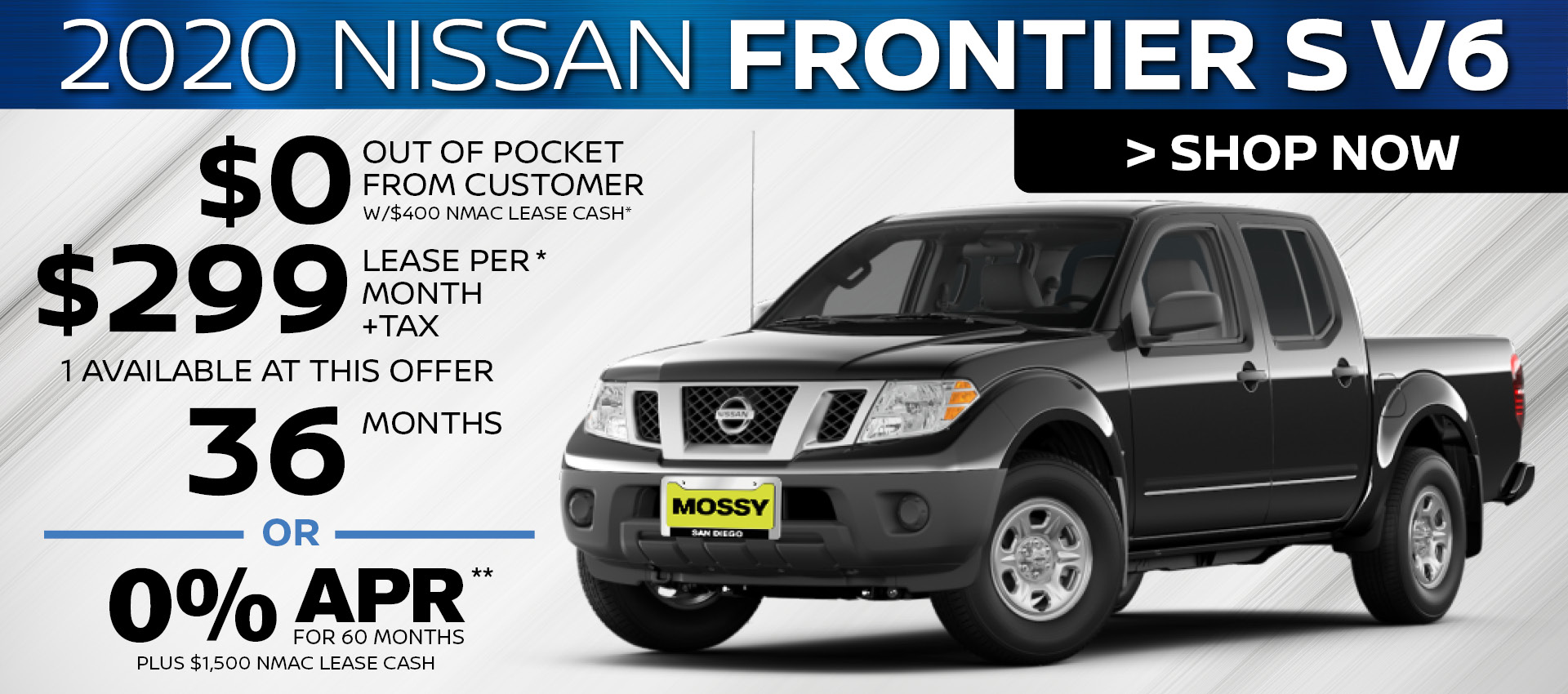 Mossy Nissan - Frontier HP