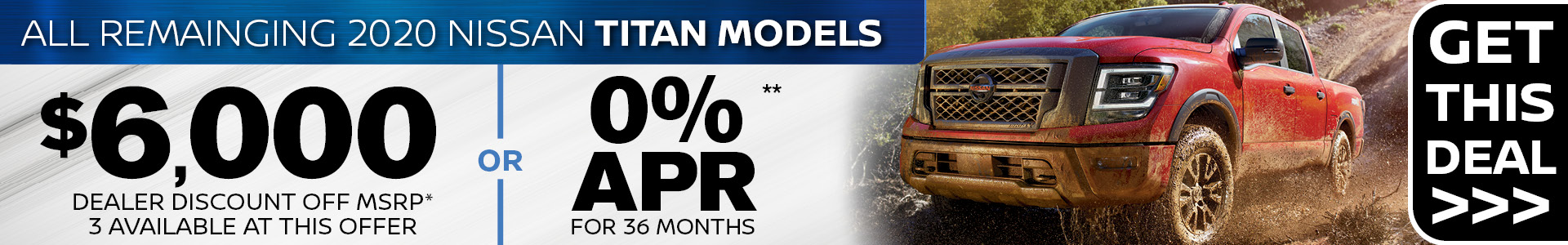 Mossy Nissan - 2020 Titan SRP