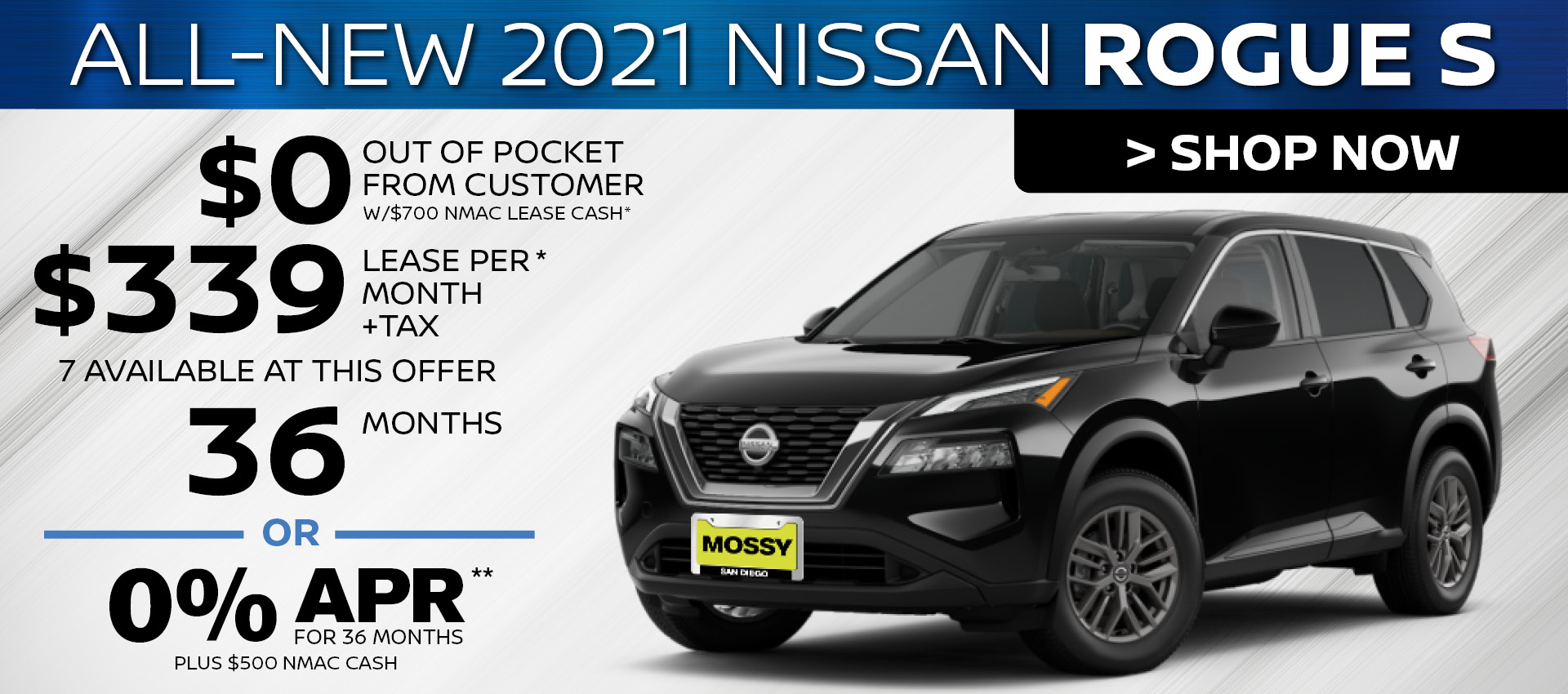 Mossy Nissan - Rogue HP