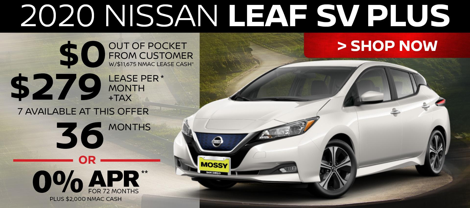 Mossy Nissan - Leaf HP