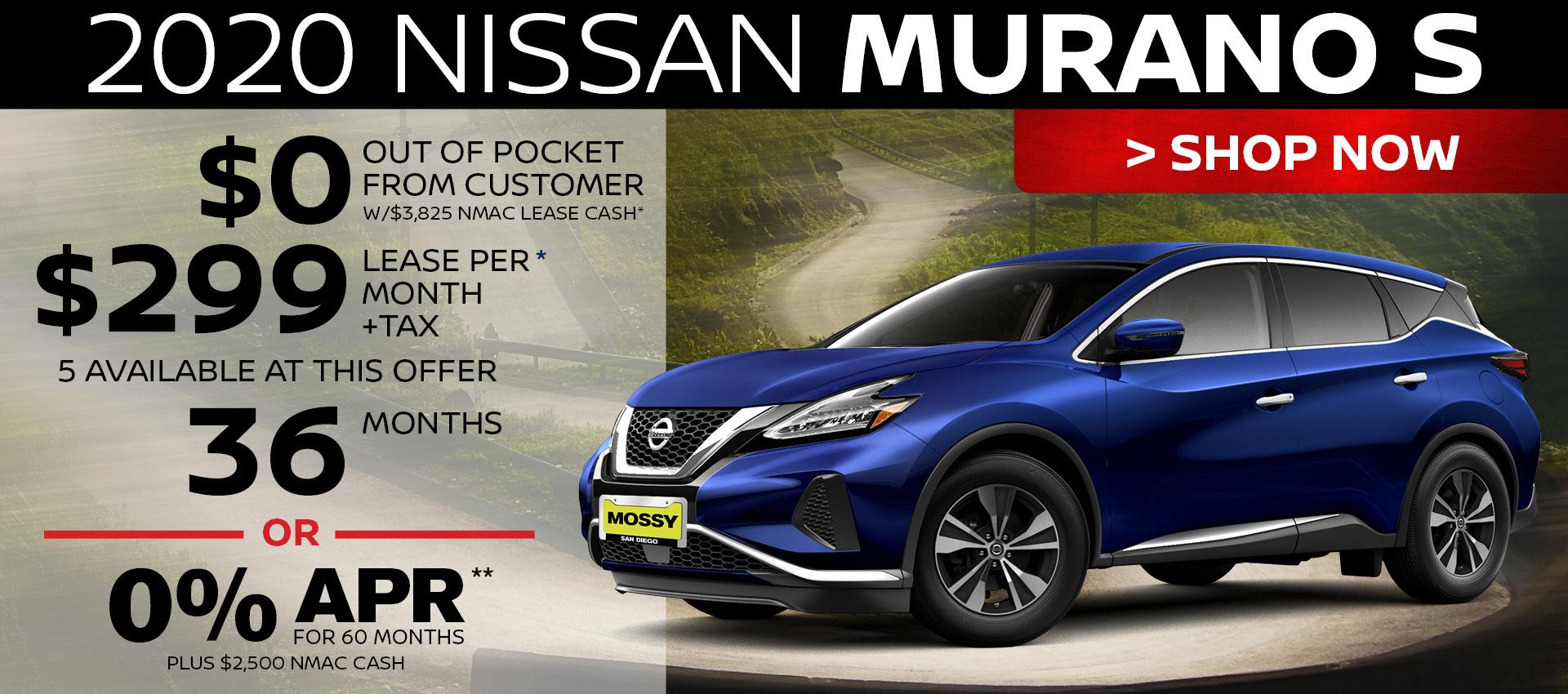 Mossy Nissan - Murano HP