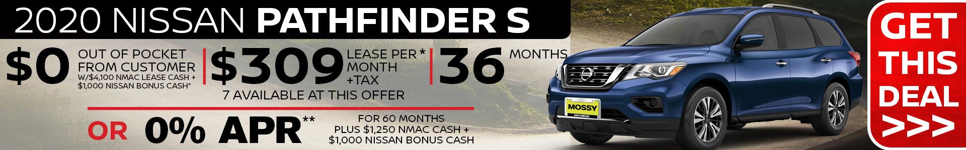 Mossy Nissan - Pathfinder SRP