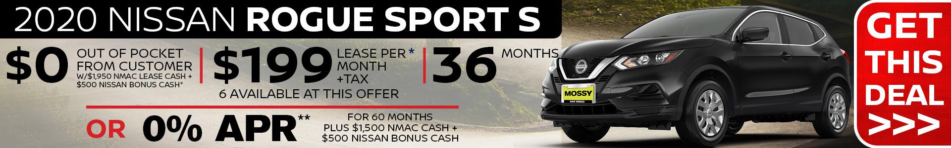 Mossy Nissan - Rogue Sport SRP