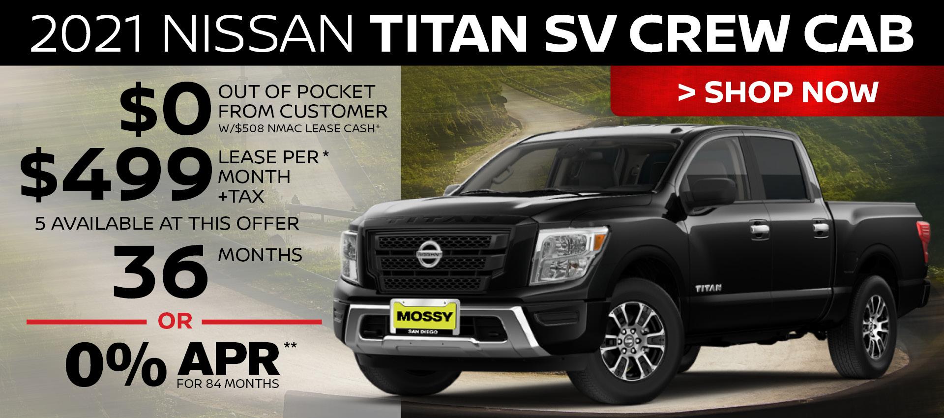 Mossy Nissan - Titan HP
