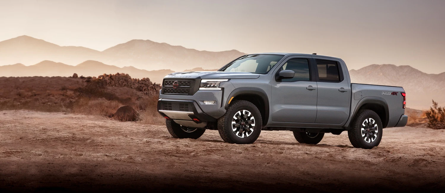 The All-New, next generation 2022 Nissan Frontier®