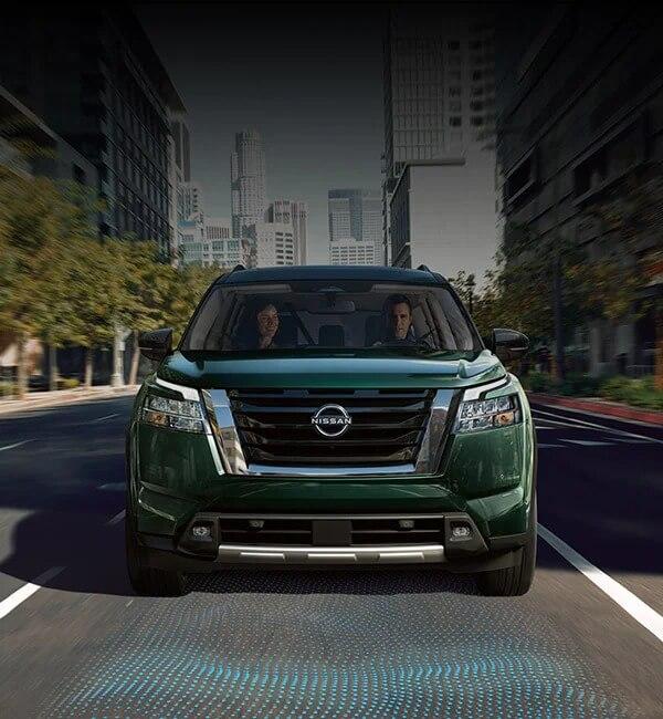 2022 Nissan Pathfinder Safety Shield 360